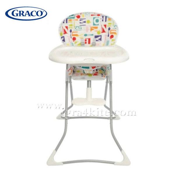 Graco - Стол за хранене Tea Time Alphabite G3T94ALHE