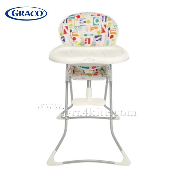 Graco - Стол за хранене Tea Time Alphabite G3T94ALHE