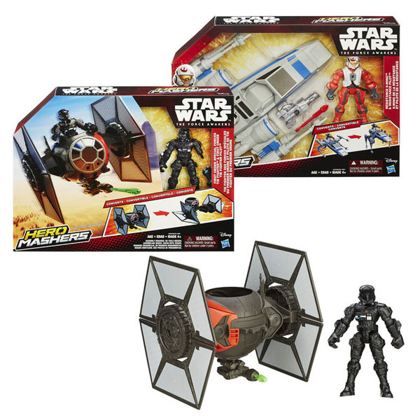 Hasbro Star Wars - Hero Mashers Космически кораб с фигурка b3701