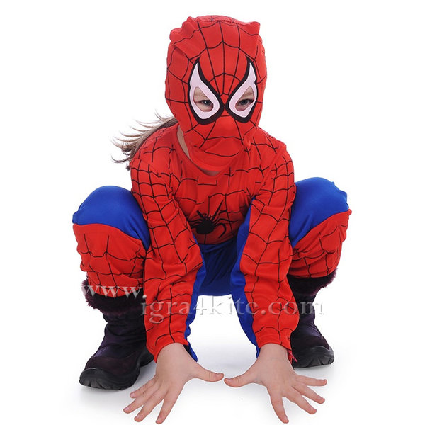 Spiderman - Детски карнавален костюм Спайдърмен 175314