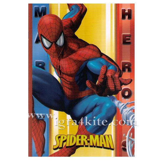SpiderMan - Тетрадка Спайдърмен В5