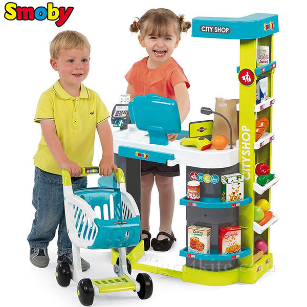 Smoby - Детски електронен супермаркет City Shop 350207