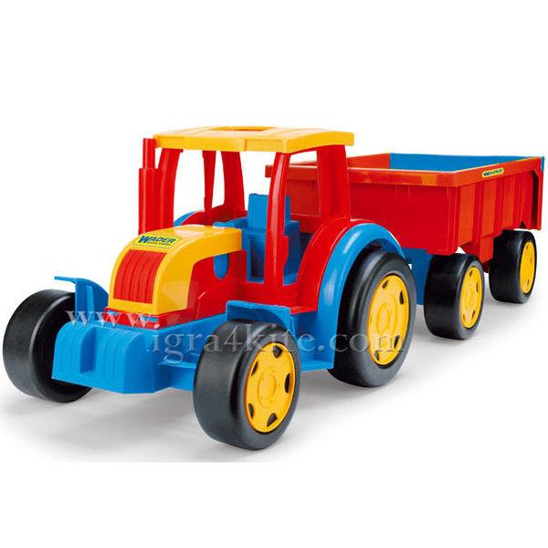 Wader - Трактор с ремарке - гигант 66100
