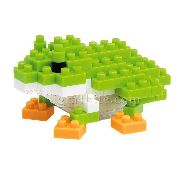 Nanoblock - 3D Строител Японска жаба