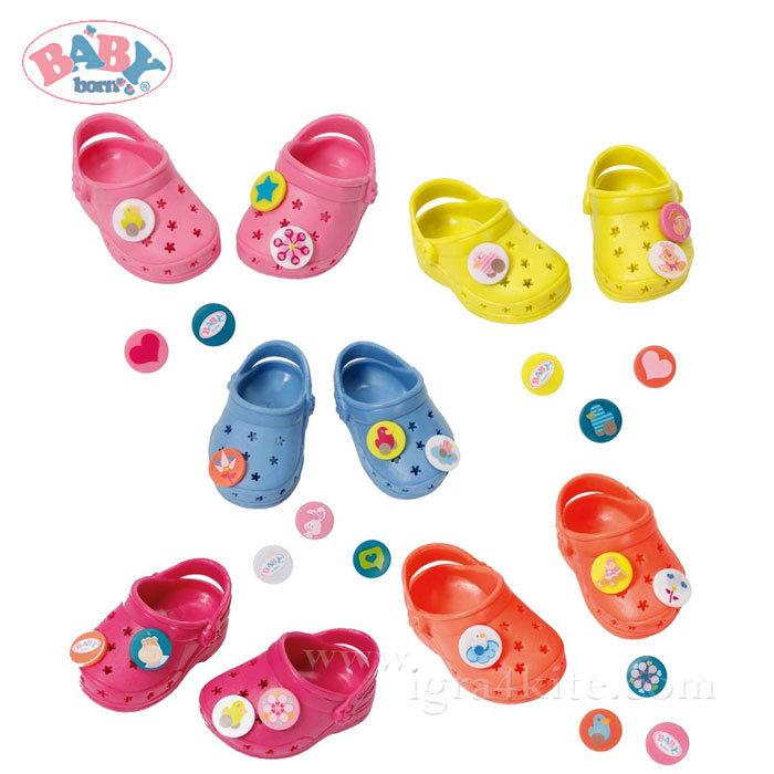 butik wyprzedażowy topowe marki świeże style Zapf Creation - Baby Born Обувки тип Crocs за кукла Бейби Борн