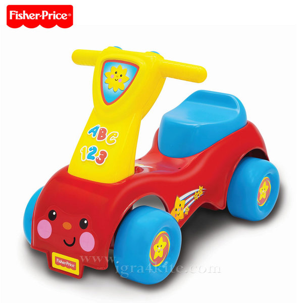 Fisher Price - Кола за бутане с крачета Lil Scoot 'N Ride-On 8338