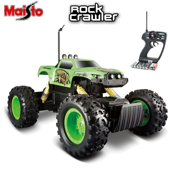Maisto Tech - Джип Rock Crawler с дистанционно управление зелен 81152