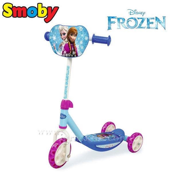 Smoby Frozen - Детска тротинетка с 3 колела Замръзналото кралство 450203