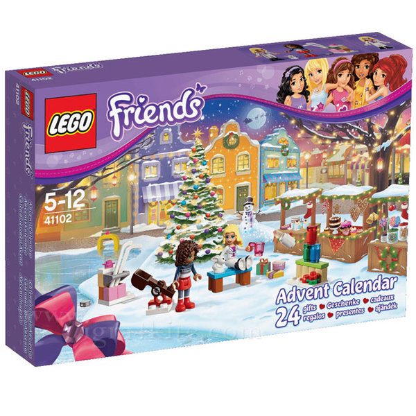 Lego 41102 Friends - Коледен календар 2015
