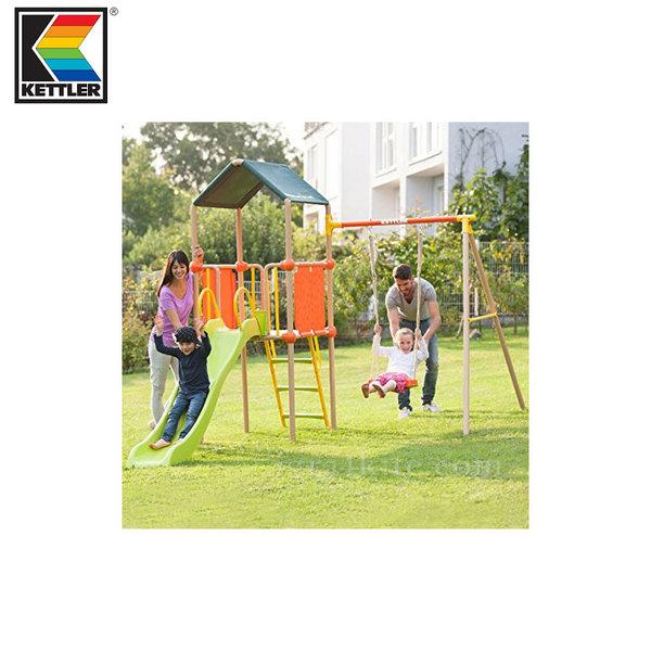 Kettler - Център за игра с пързалка и люлка 0S01013