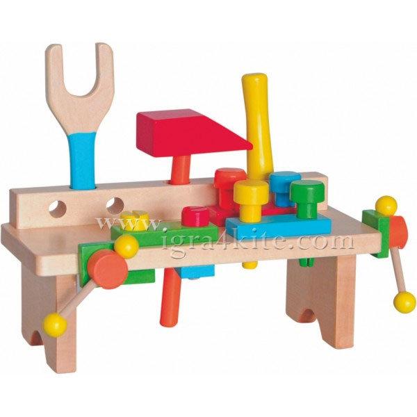 Woody - Дървена работилница малка 90103