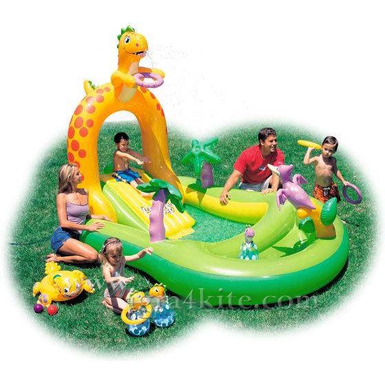 Intex - Детски център за игра Динозавър 57456