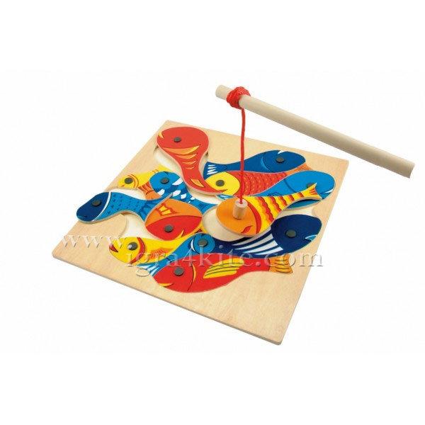 Woody - Игра магнитен риболов 90014