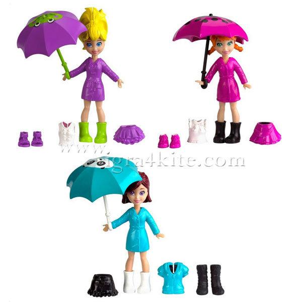 Polly Pocket - Дъждовен ден x1212