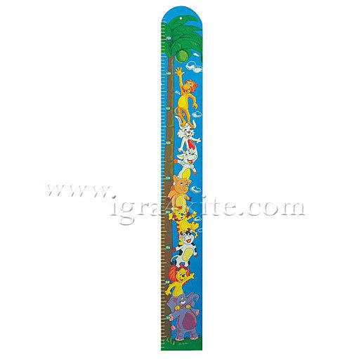 Woody - Дървен метър Джунгла 90097