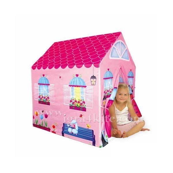 iPlay - Детска къща за игра розова 14189