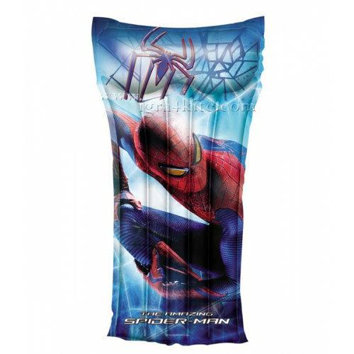 Bestway - Детски надуваем дюшек Spiderman 98005