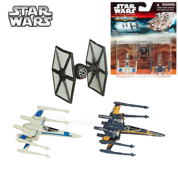 Hasbro Star Wars - Комплект 3 бойни кораба от Междузвездни войни X-Wing Dogfight b3500
