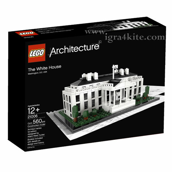 Lego 21006 Архитектура - Белият дом