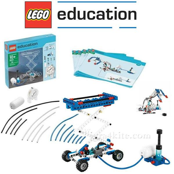Lego 9641 Dacta Technic - Комплект пневматика