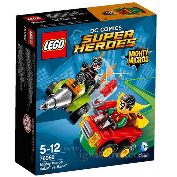 Lego 76062 Super Heroes - Робин срещу Бейн