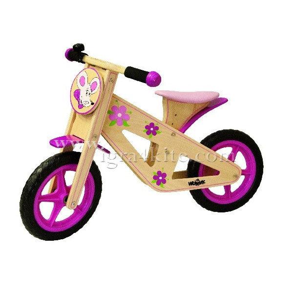 Woody - Детско дървено колело без педали Trendy
