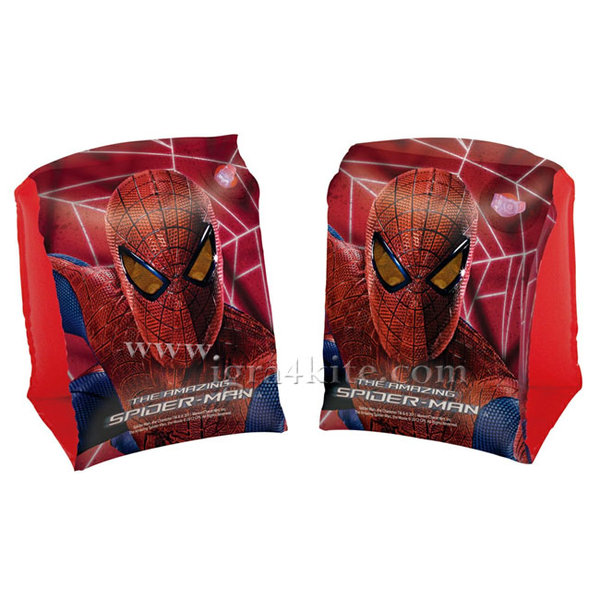 Bestway - Детски надуваеми поясчета за ръце Spiderman 98001