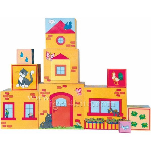 Woody - Дървени кубчета с картинки 90875