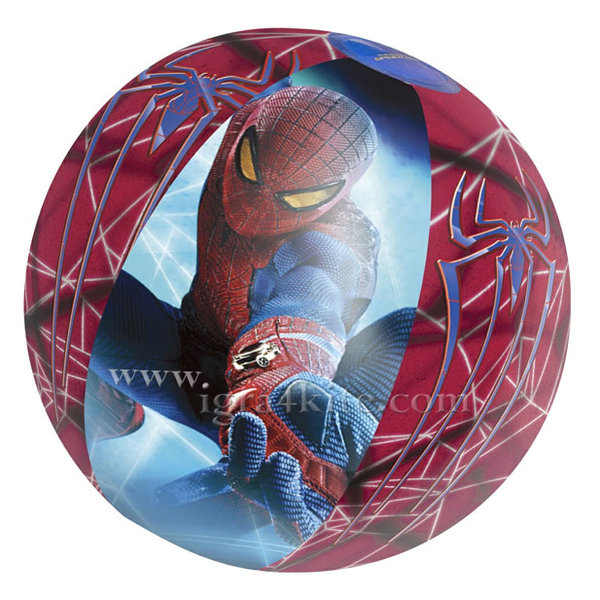 Bestway - Детска надуваема топка Spiderman 98002