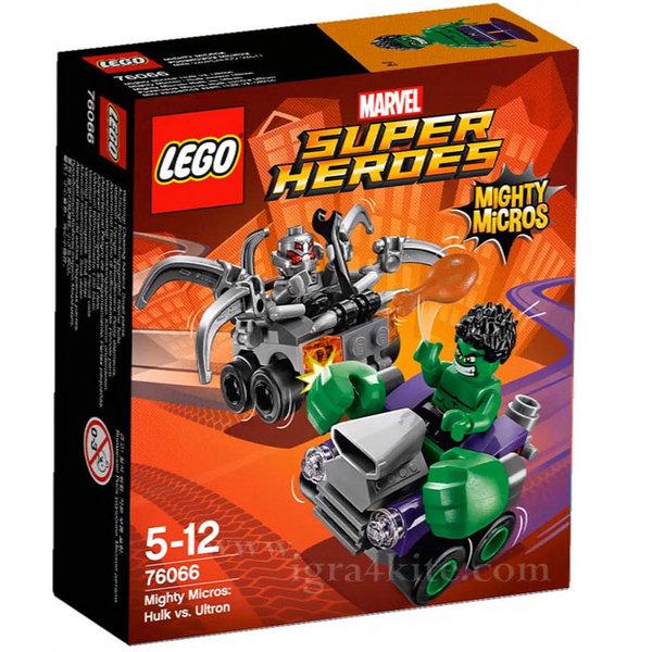 Lego 76066 Super Heroes - Хълк срещу Ултрон