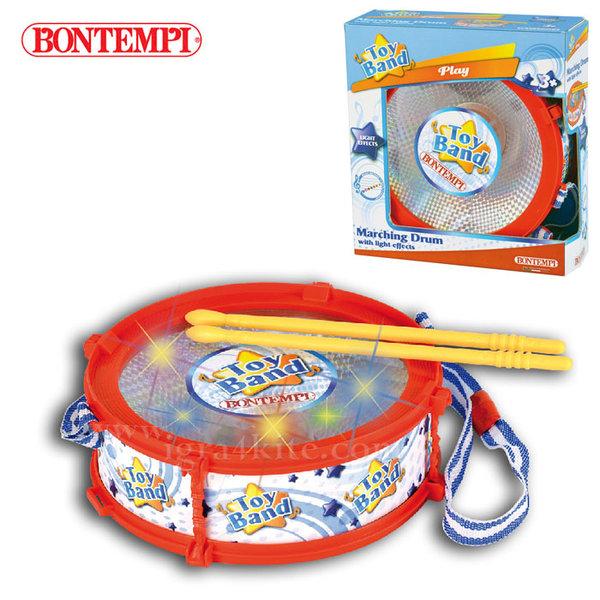 Bontempi - Детски барабан със светлинни ефекти 191258