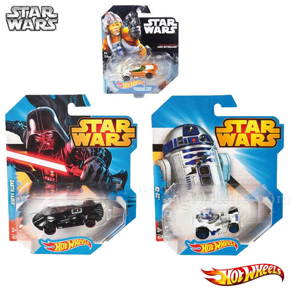 Hot Wheels Star Wars - Количка Стар Уорс 1:64 dxn83