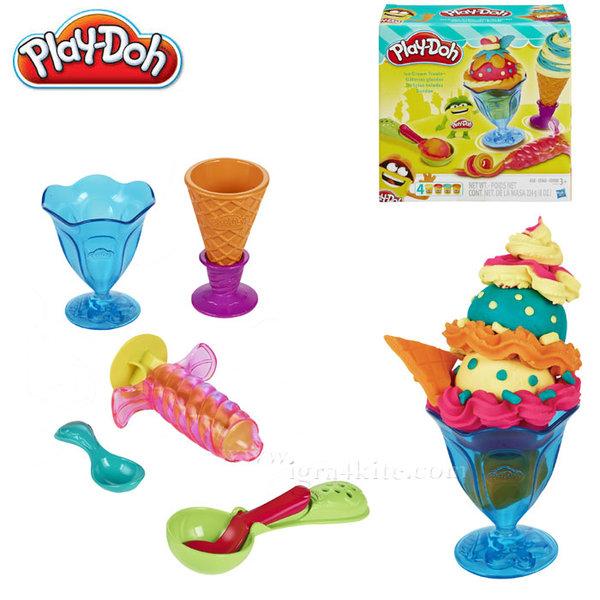 PlayDoh - Комплект за сладолед Плейдо b1857
