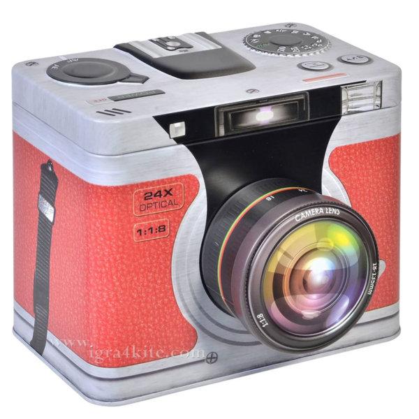 Кутия за съхранение Ретро фото апарат 145231