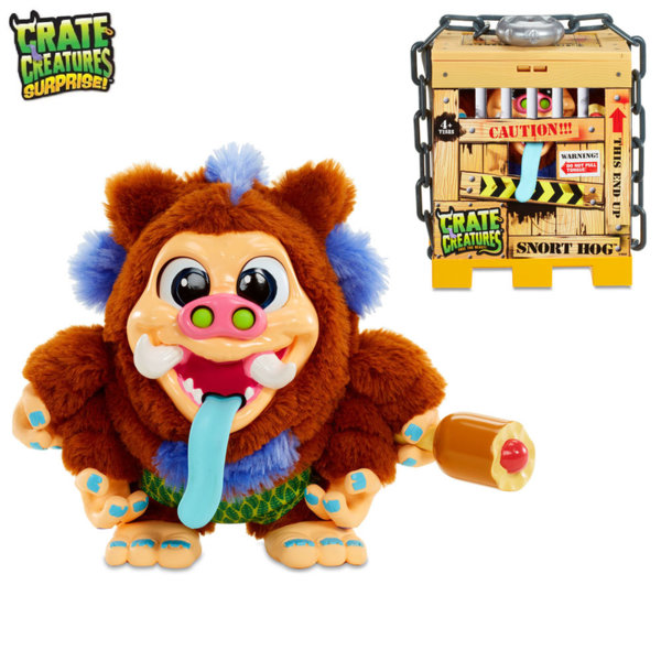 Crate Creatures - Чудовище в клетка Snort Hog 549253E5C