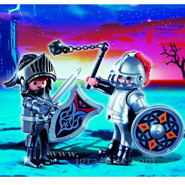 Playmobil - Комплект железни рицари 5886