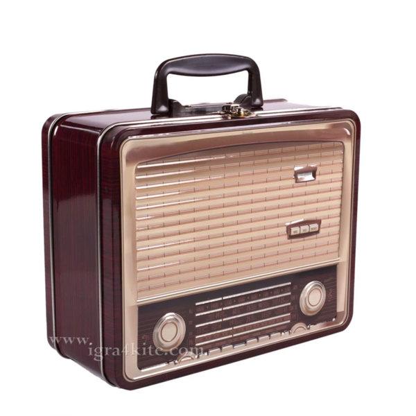 Кутия за съхранение Ретро радио 10238