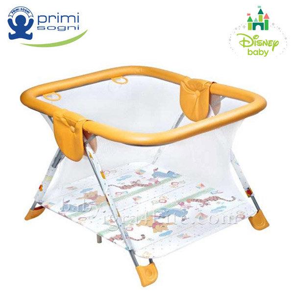 Primi Sogni - Детска кошара за игра Square Winnie The  Pooh