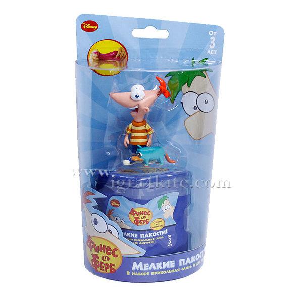 Phineas and Ferb - Фигурка в желе+допълнителна фигурка