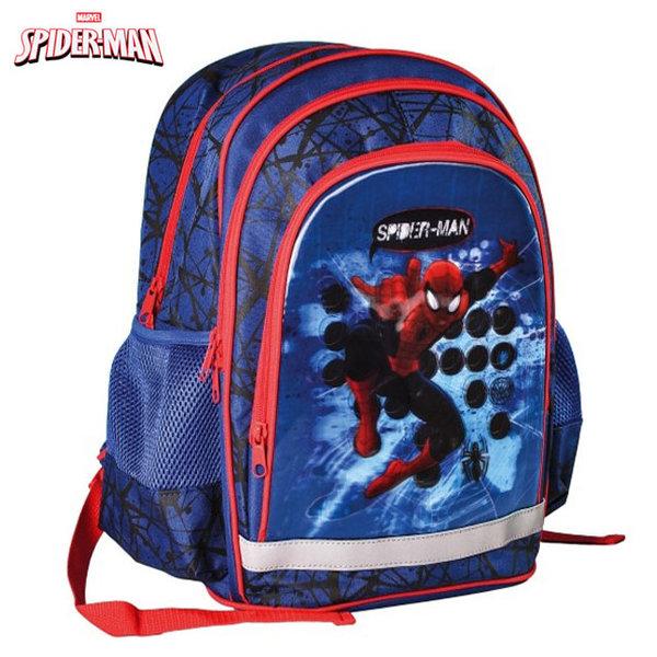Spiderman - Ученическа раница Спайдърмен 3D холограма 316021