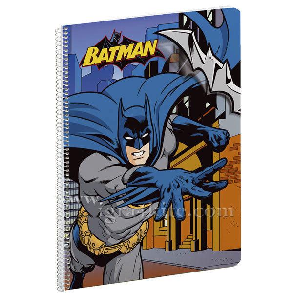 Batman - Тетрадка със спирала А5 Батман