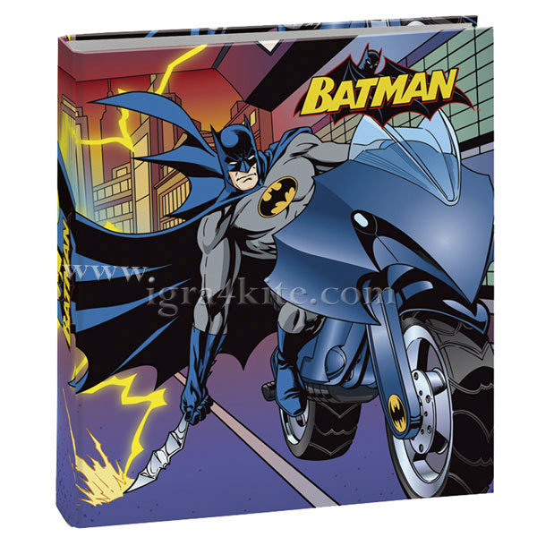 Batman - Класьор с 4 ринга Батман