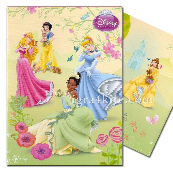 Disney - Тетрадка A5 комплект 5 броя Принцеси