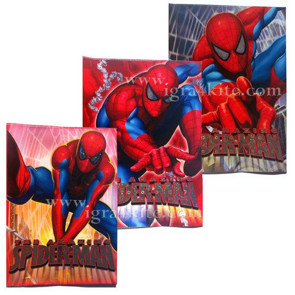 Spiderman - Подвързия за тетрадки формат А5
