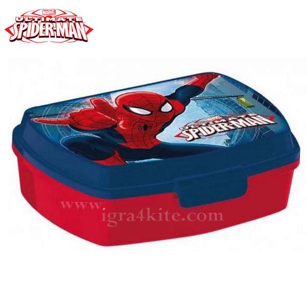 Spiderman - Кутия за закуски две нива Спайдърмен 95025