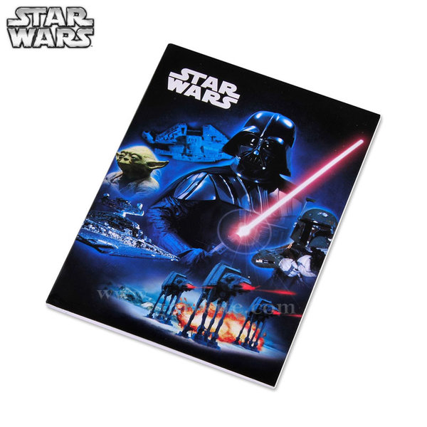 Star Wars - Комплект тетрадки Стар Уорс A5 5бр.