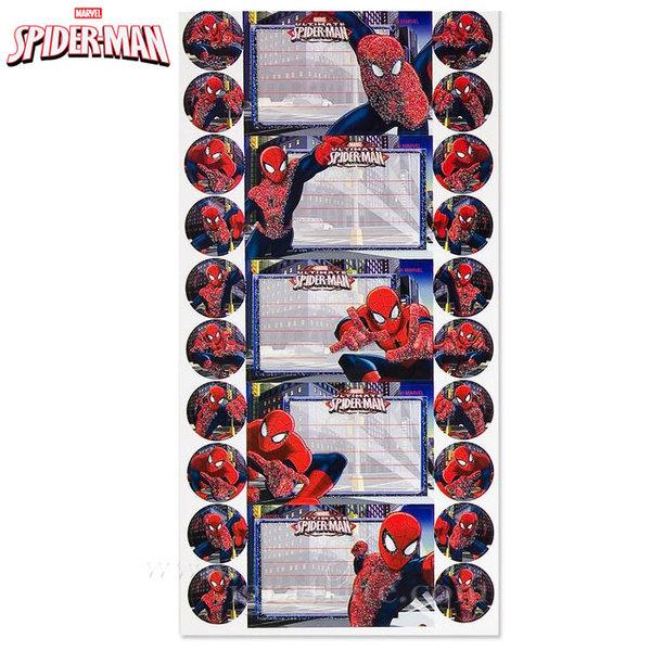 Spiderman - Ученически етикети Спайдърмен 140215
