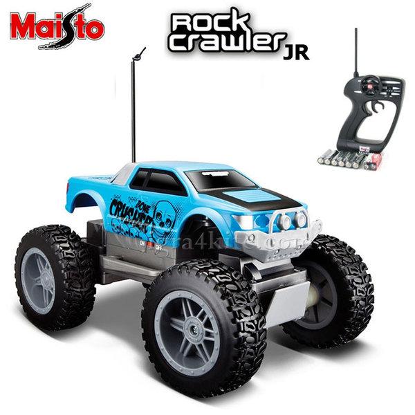 Maisto Tech - Джип Rock Crawler Junior с дистанционно управление син 81162