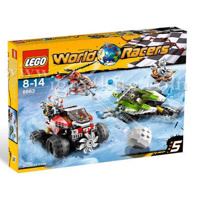 Lego 8863 Racers - Ледено рали