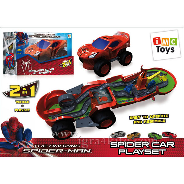 IMC Toys - Spiderman - Трансформираща се кола 550735